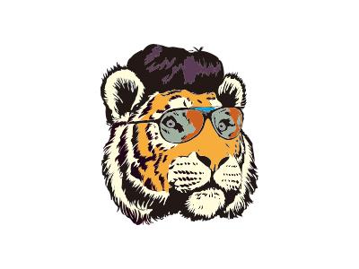 老虎头图形